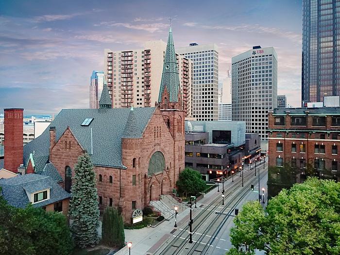 CENTRAL PREBYTERIAN CHURCH Architecture and Neighborhood