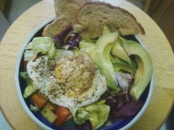 Fried Egg Salad is an awesome breakfast!