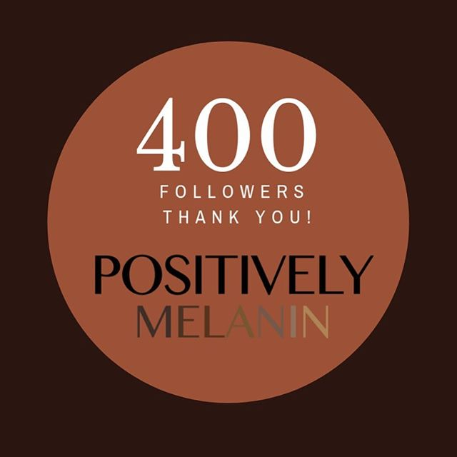 "We have reached 400 followers on Instagram! Thank you to our Positively Melanin community for your support. Positively Melanin was created to spread positive representation of Black professionals in various careers. Because as Marian Wright Edleman said, ""You can't be what you can't see"". Thank you for helping us color the narrative! Please also follow us on Facebook.  #colorthenarrative #positivelymelanin #representationmatters #communityleadershipcorps #obamafoundation"