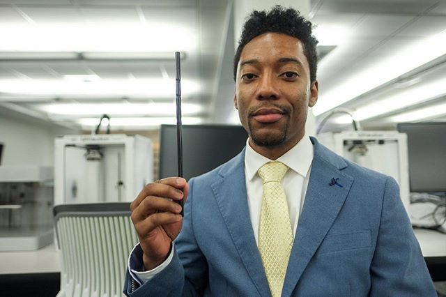 Congrats to Jackson State University graduate student Lamonte Pierce who has created the Cleanstraww that filters lead from water. He just landed a deal with Walmart! His invention was born out of his frustration of constantly receiving boil-water alerts due to contaminants in his hometown of Jackson, Mississippi. #colorthenarrative