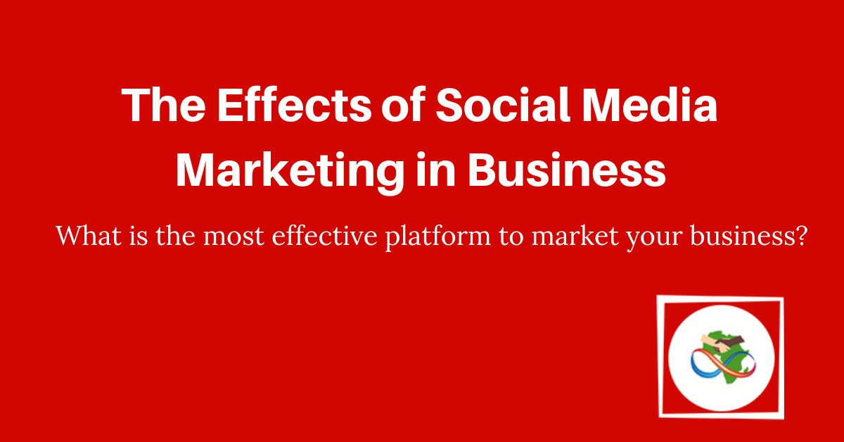 The effects of social media marketing in business
