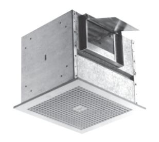 Z10S/H + TDA - Ceiling/Inline Duct Mounted Cabinet Exhaust Fan