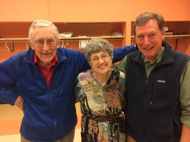Dr. Tito Gambarini, Dr. Shelly Berkowitz, and John Berkowitz