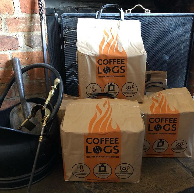Looking forward to these genius little logs keep us bright and warm through the cold months.  Coffee Logs by @biobeanltd.  In association with Hitchin BID @ourhitchin. & for sale here at the pub.  All profits from our sales at the Highlander will go towards Isaacs World challenge Morocco 2020 expedition with @tps_hitchin & @weareworldchallenge.  DM us for more details.  #hitchin #worldchallenge2020 #coffeelogs #coffeelogshitchin #share #fire #fireplace #woodburner #autumn #winter #warm