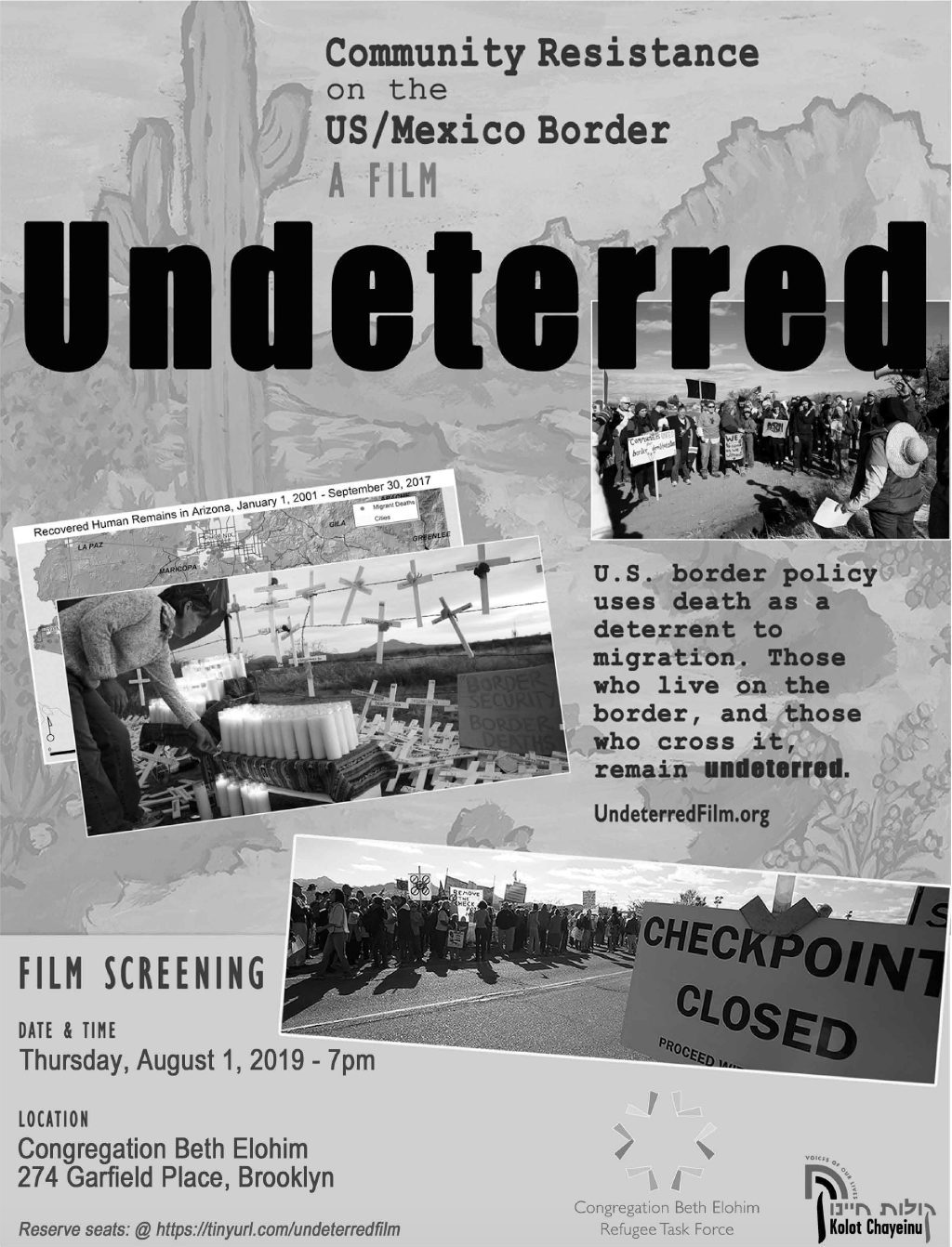 Undeterred Film at CBEBK