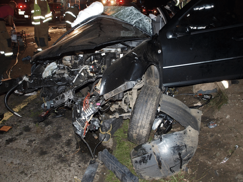 Photo of October 12, 2013 accident