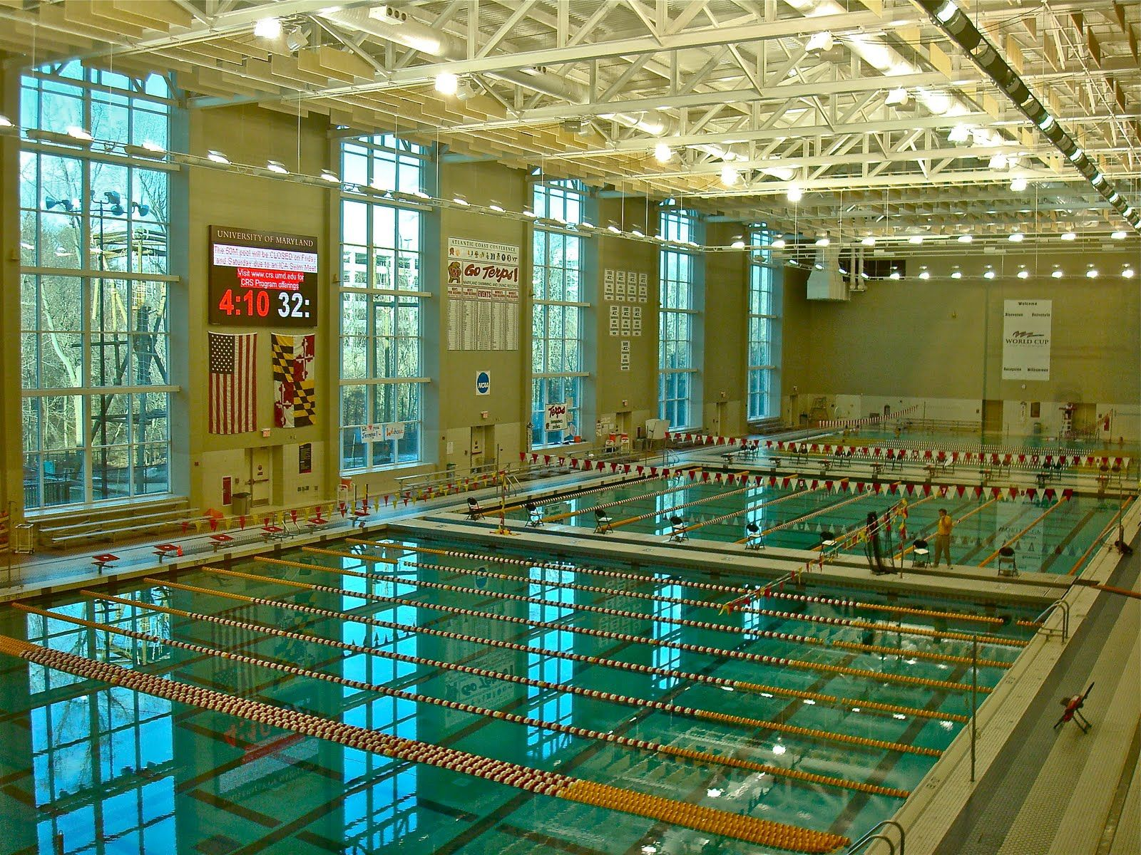 """UMD is the best water polo facility our kids have ever had access to."" -"