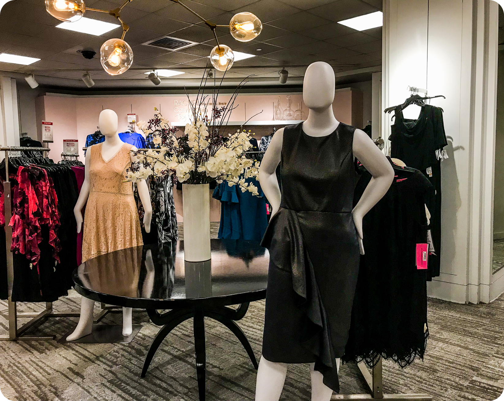 Macy's Plus Size section