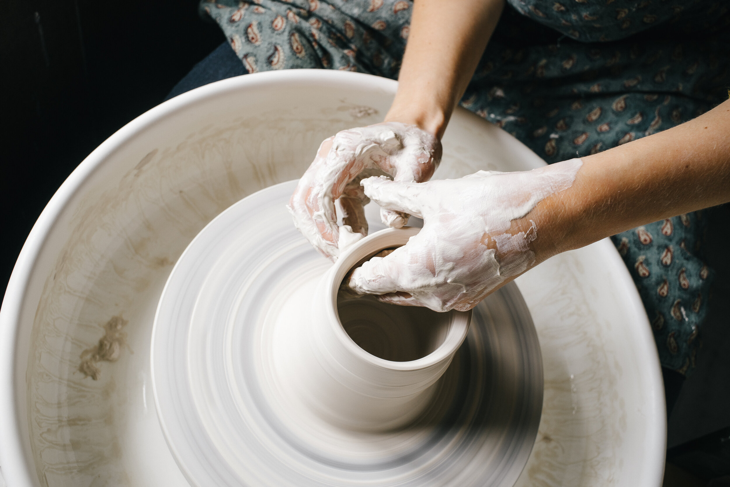 Wheel Throwing Online Class One To One Laima Ceramics