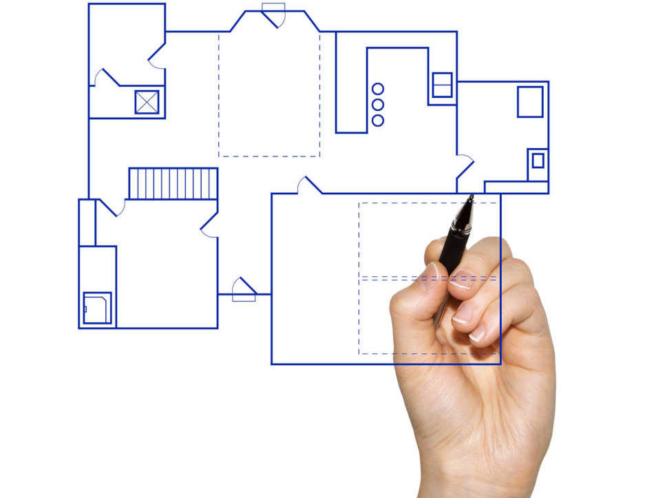 Home drawings that pop