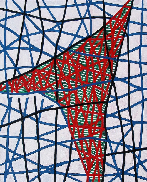 Pablo Rey, 'Estados Superpuestos # 003', 81 x 65 cm. Mixed media on canvas. SFG, Costa Brava, Girona. 2004.