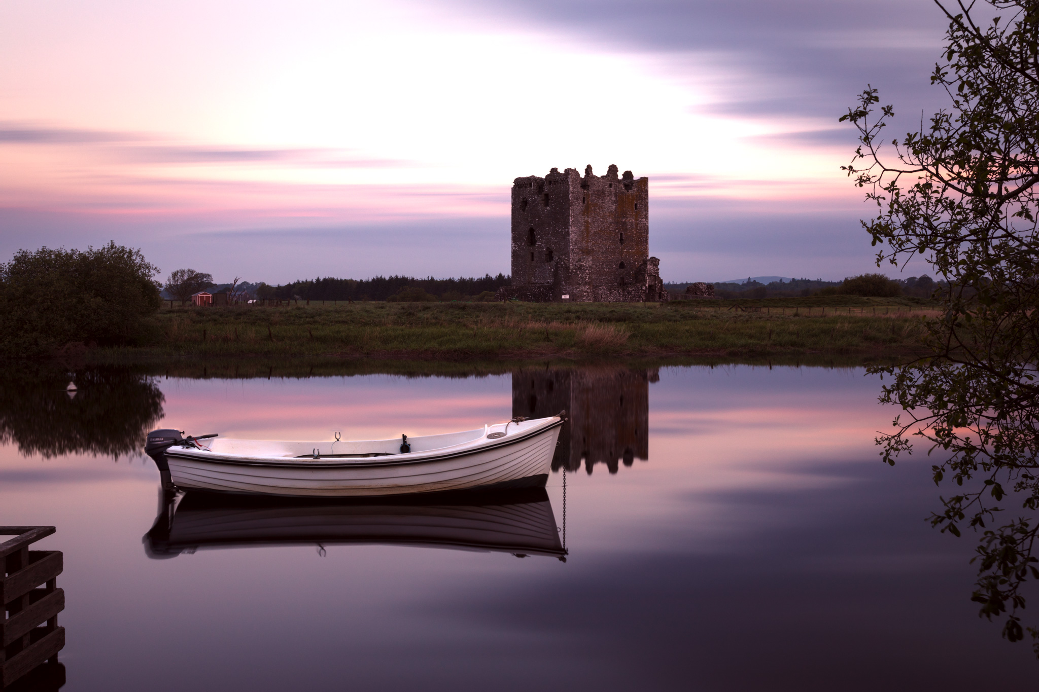 Threave Castle at Dawn