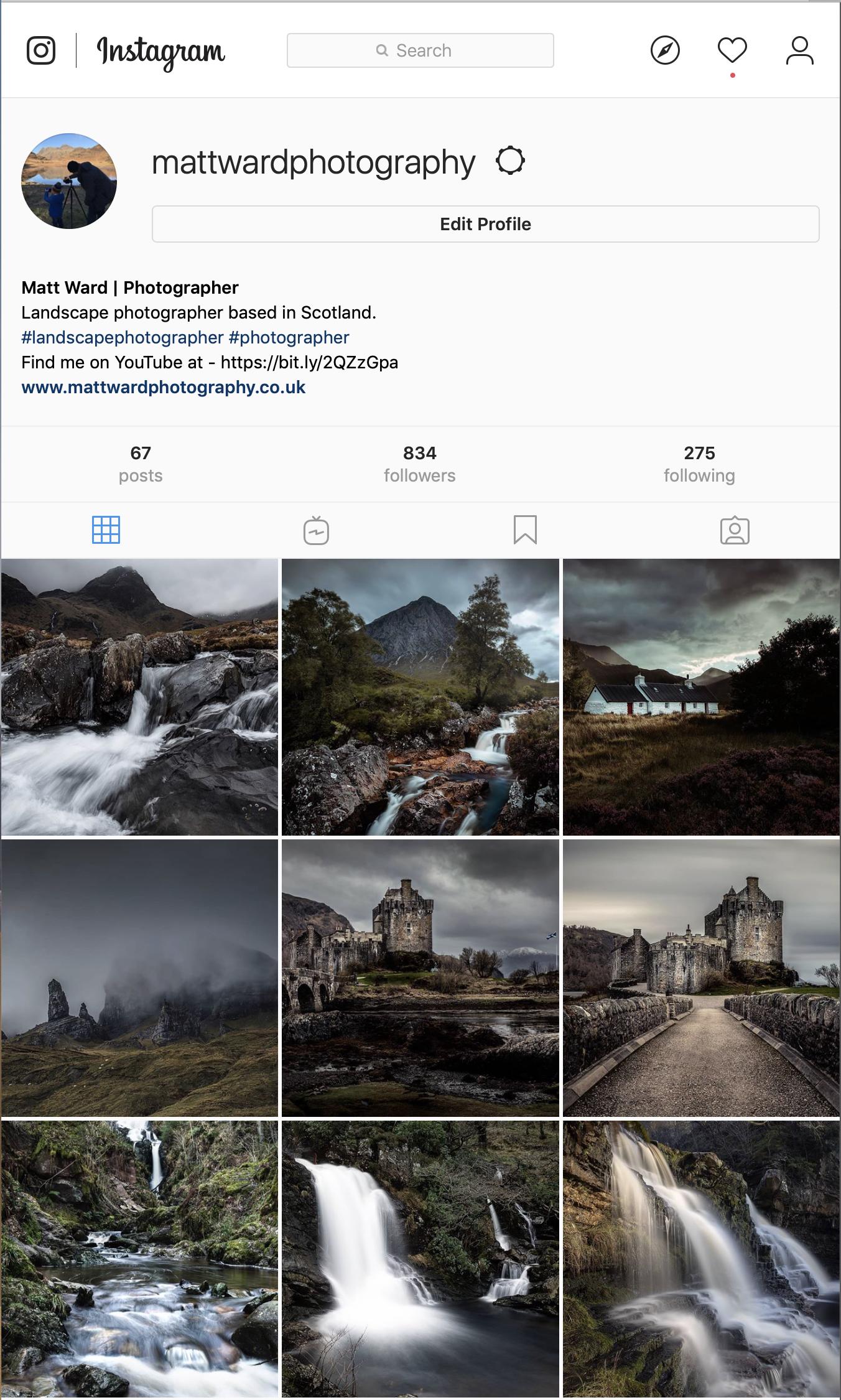 Matt Ward Instagram