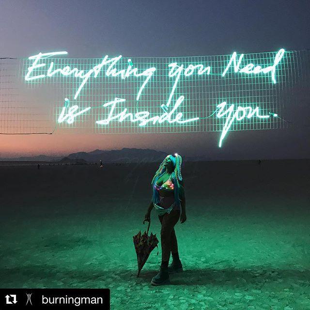 Burning Man, we love you. #Repost @burningman ・・・ Indeed. | Photo by @stephaniewhitaker_ | #burningman #blackrockcity #brc #radicalselfreliance