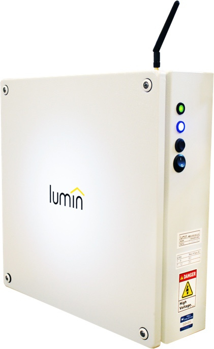 Lumin Smart Panel® - The patented Lumin Smart Panel is safe, and designed and built to UL standards. The hardware installs quickly and easily and sits between your distribution panel and your appliances. It is the gateway to the Lumin insights software, the brain of the Lumin Energy Management Platform.