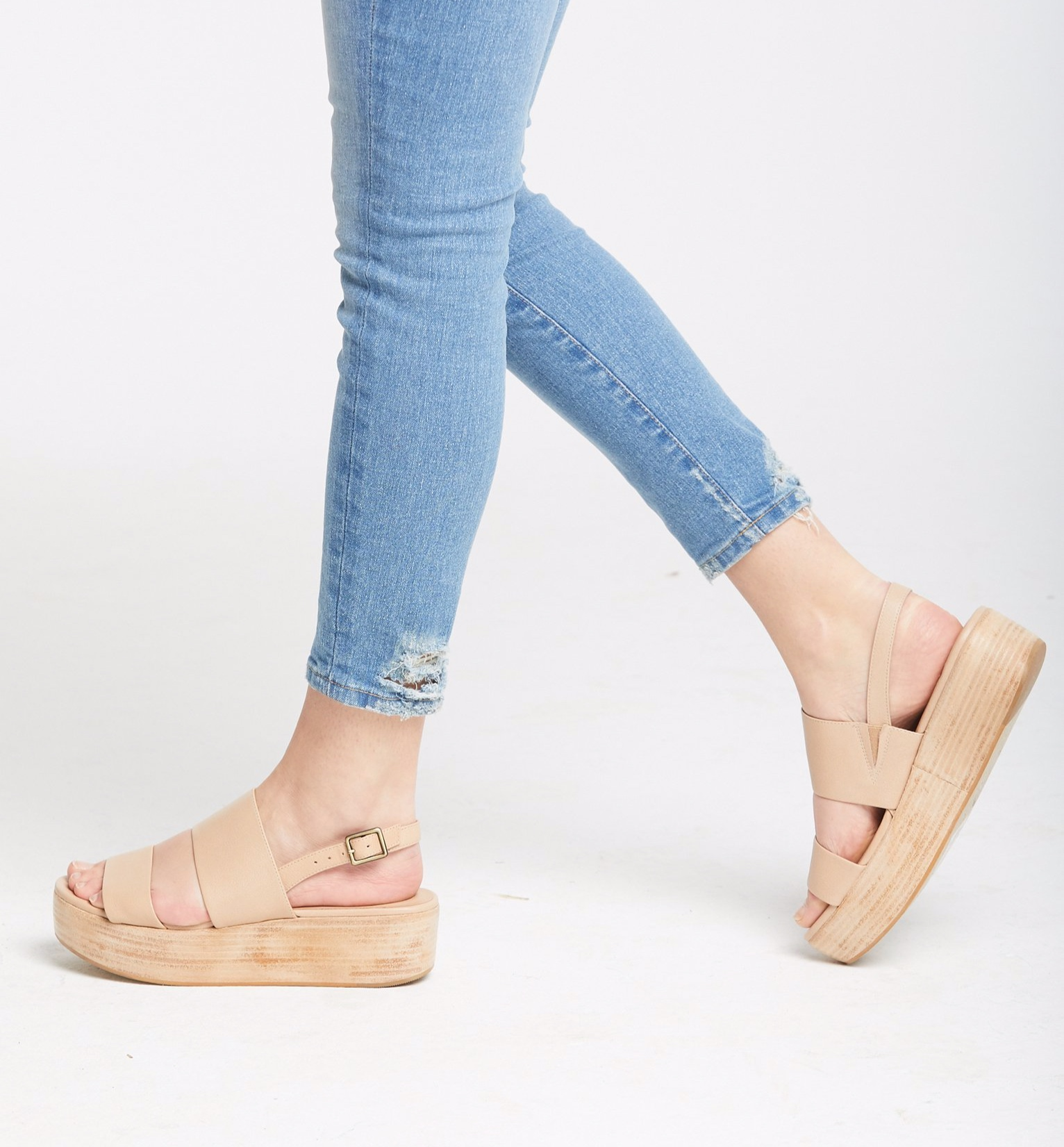 ABLE Sandals, $128