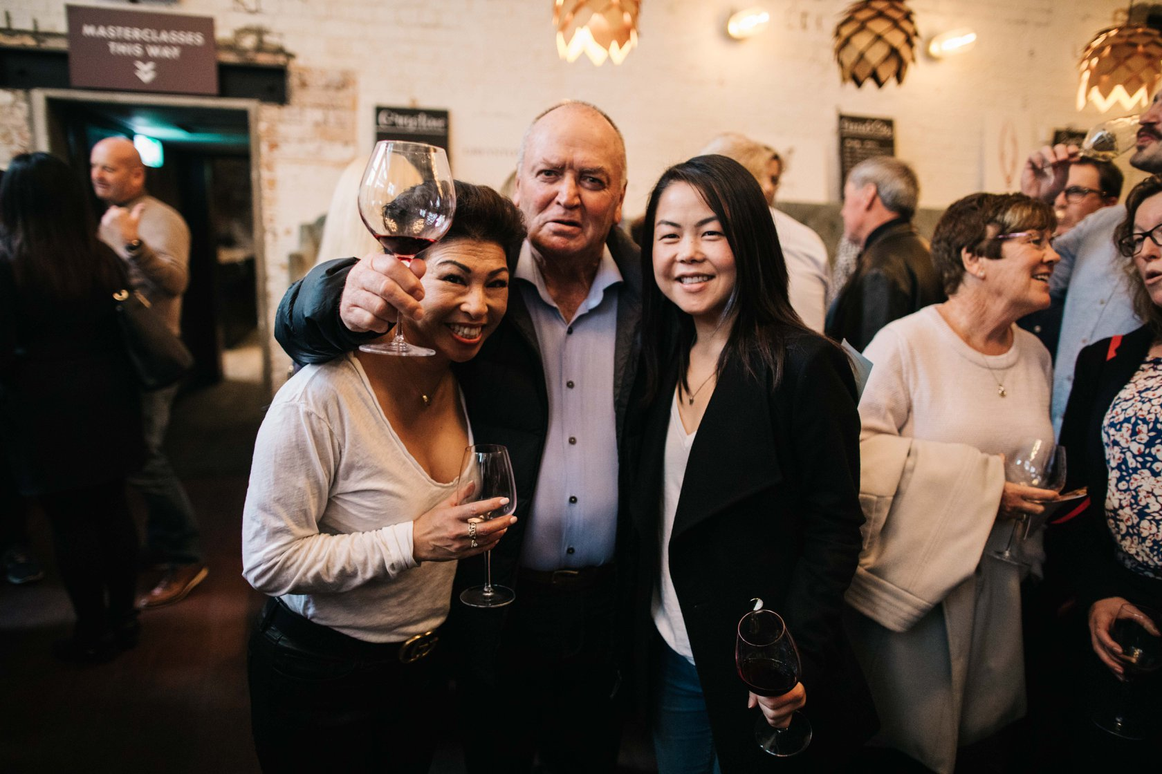 Yes, it's Graham Henry at this year's Boutique Wine Festival