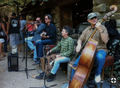 Local bands keep the vibe easy at cold spring tavern - This historic spot is good for lunch, music, a cold drink and filtered light from the surrounding oak trees.