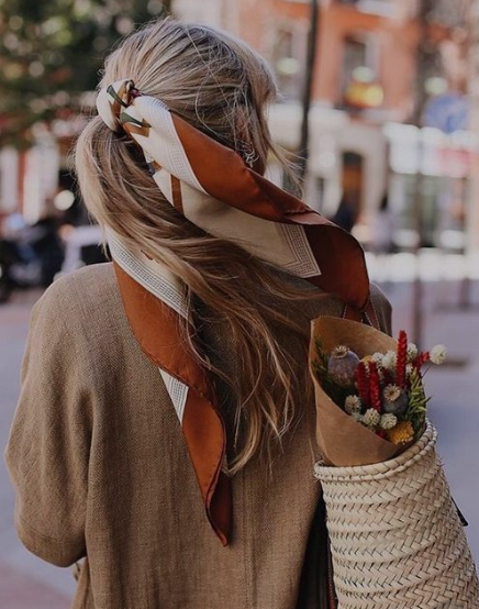 A scarf just ties everything together.