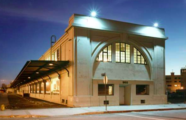 Southern California Institute of Architecture is housed in an old train depot.
