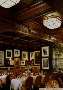 The Ralph Lauren Restaurant in Chicago - Every room is a feast for the eyes.