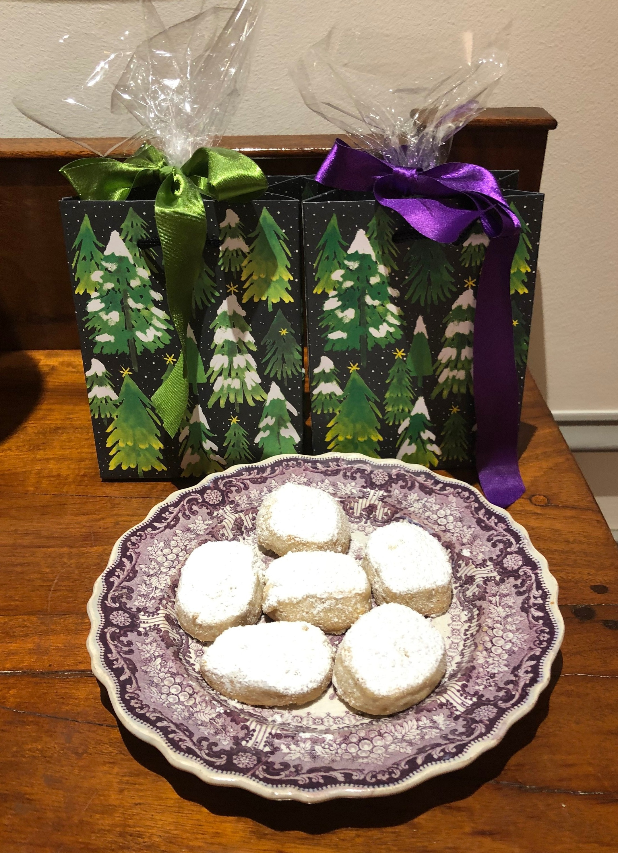 These cookies are so easy to make, and they will keep for a week.
