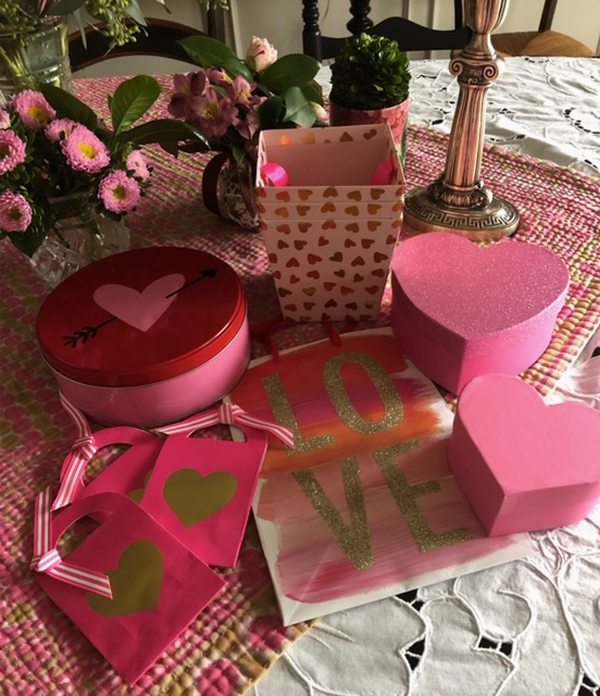 Target  has great containers for all your Valentine's gifts.