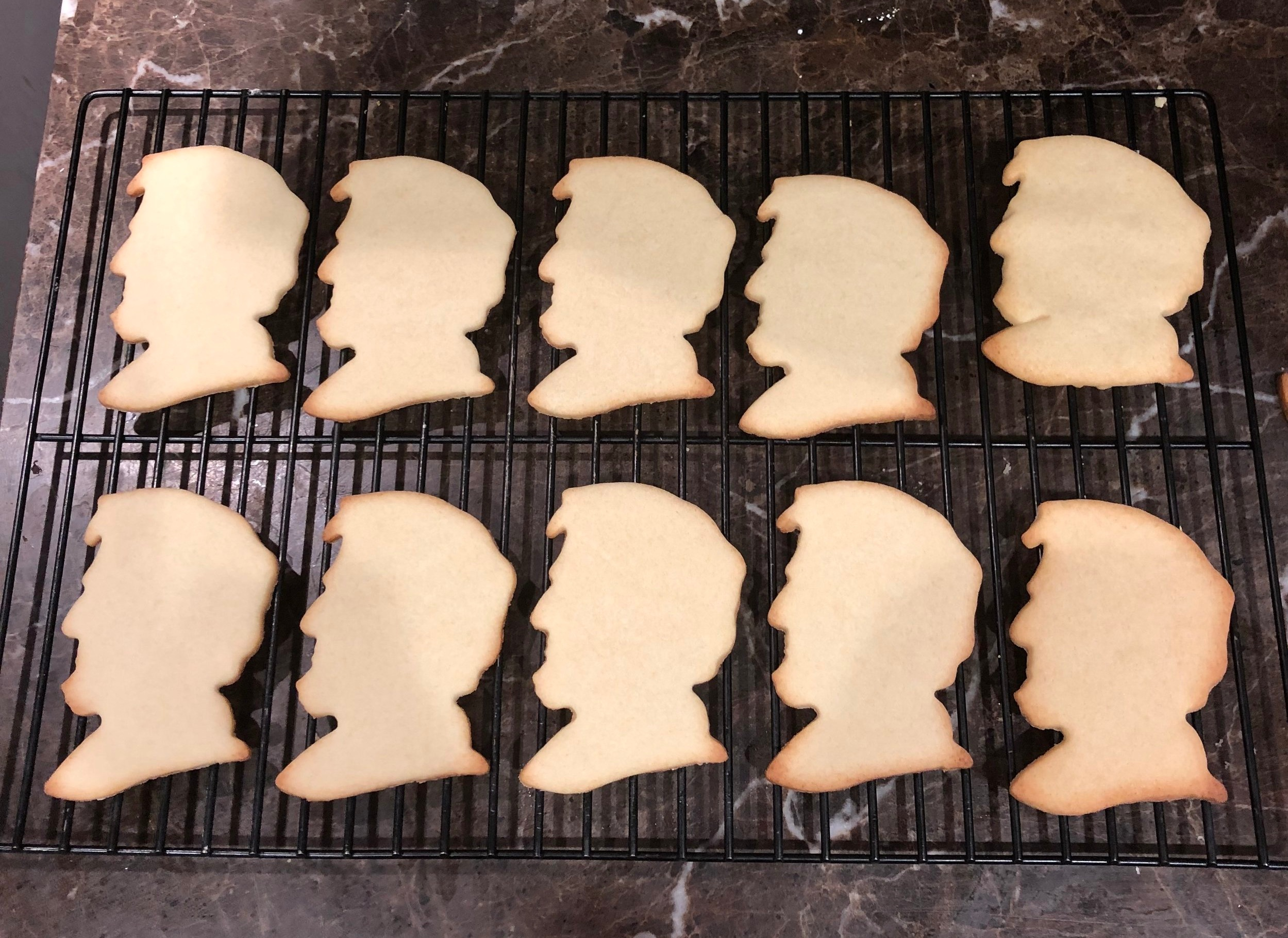 The cookies are out of the oven and ready for frosting. February 12th is a day to celebrate our 16th President. What are you doing?