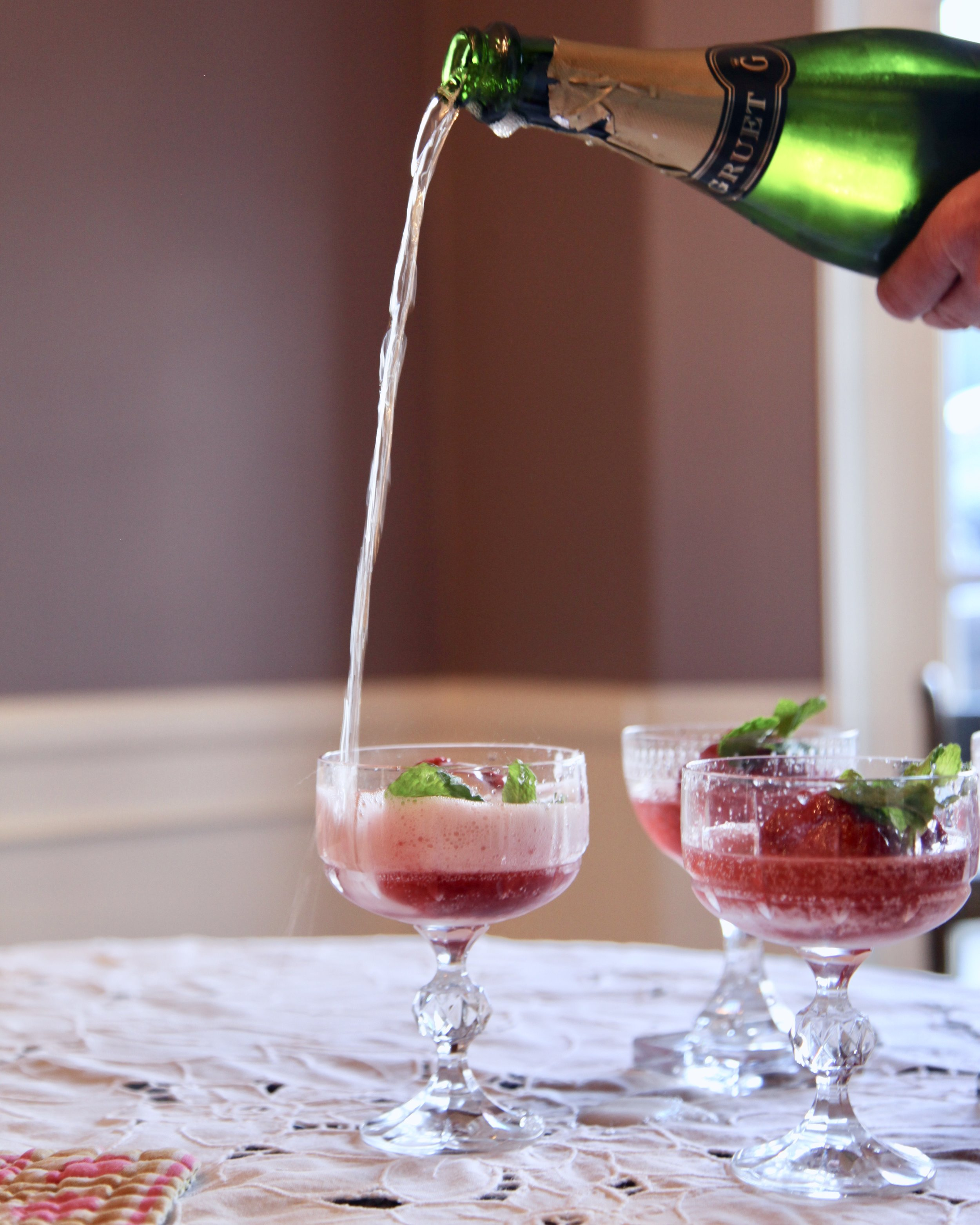 Get ready for the compliments when serving this simple, yet yummy cocktail or desert.