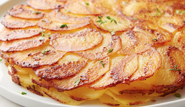 You are two ingredients away from these crispy, buttery potatoes! - St. Patrick's Day dinner takes on a French twist.
