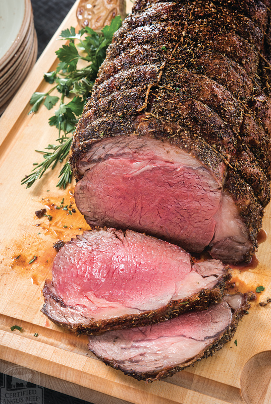 How do you like your prime rib? - And what do you like served with it?