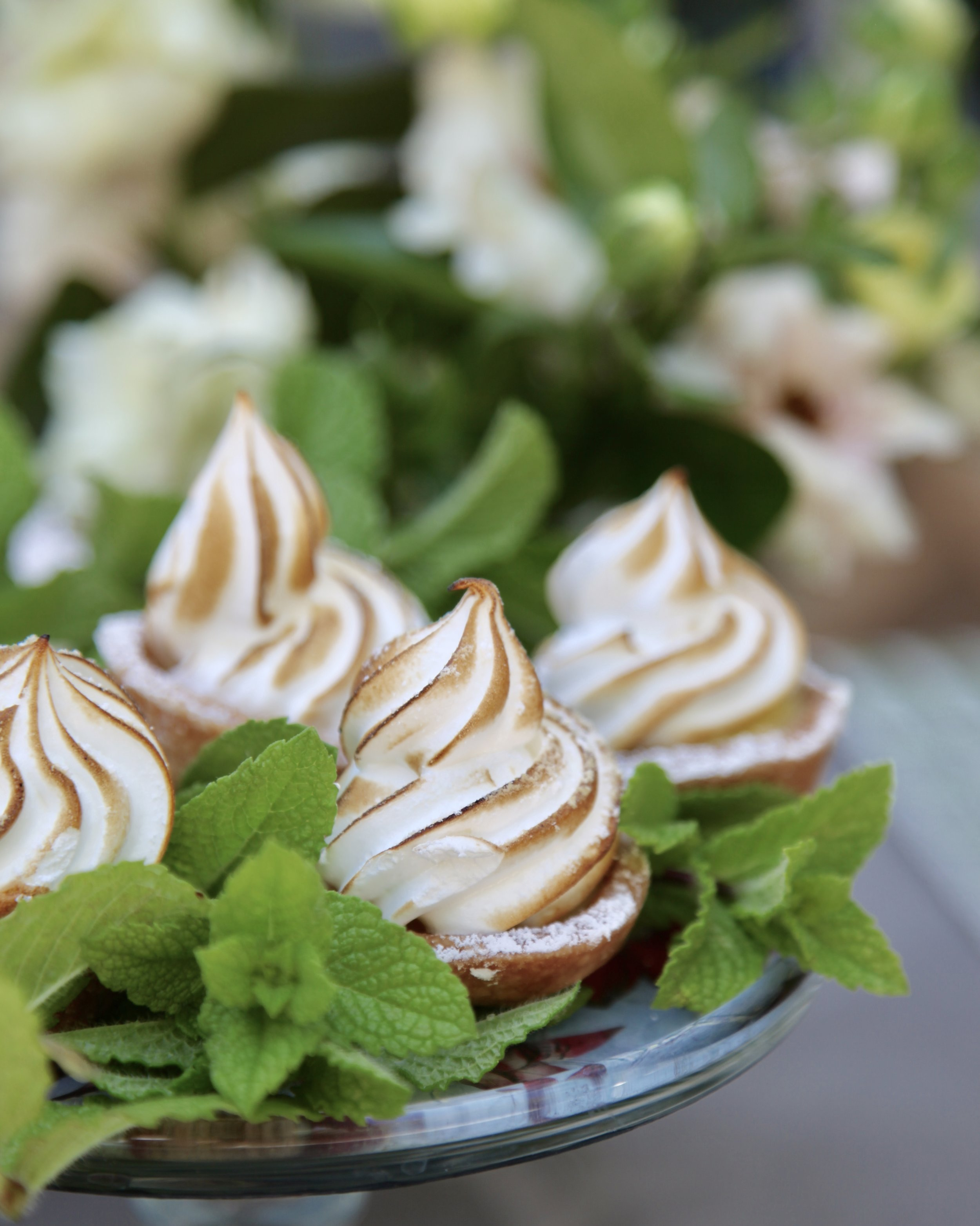 A little sprig here, a little one there … mint makes food pop!
