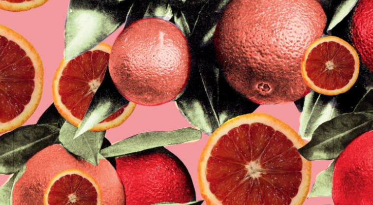 Blood oranges offer rich taste and deep color. Put them on your grocery list.