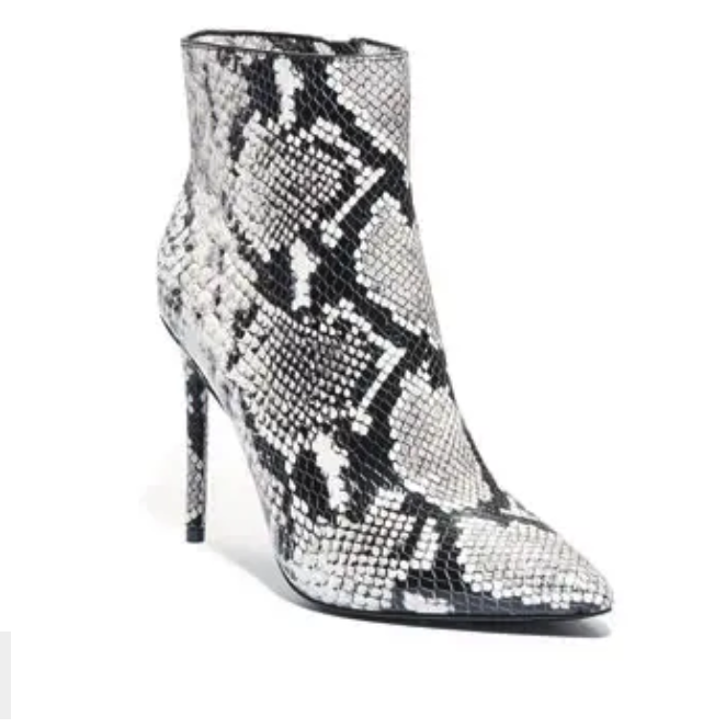 A night out on the town? - Alice and Olivia make it easy (and affordable) to pair this ankle bootie with jeans or a dress