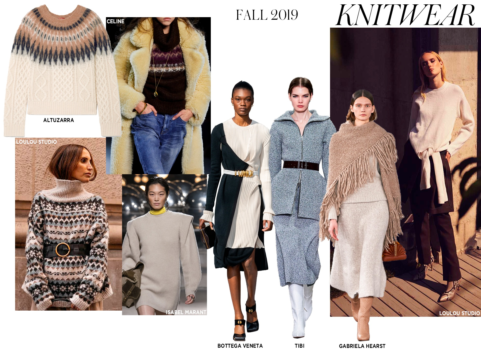 Neiman Marcus  is in step with this season's sweater trends.