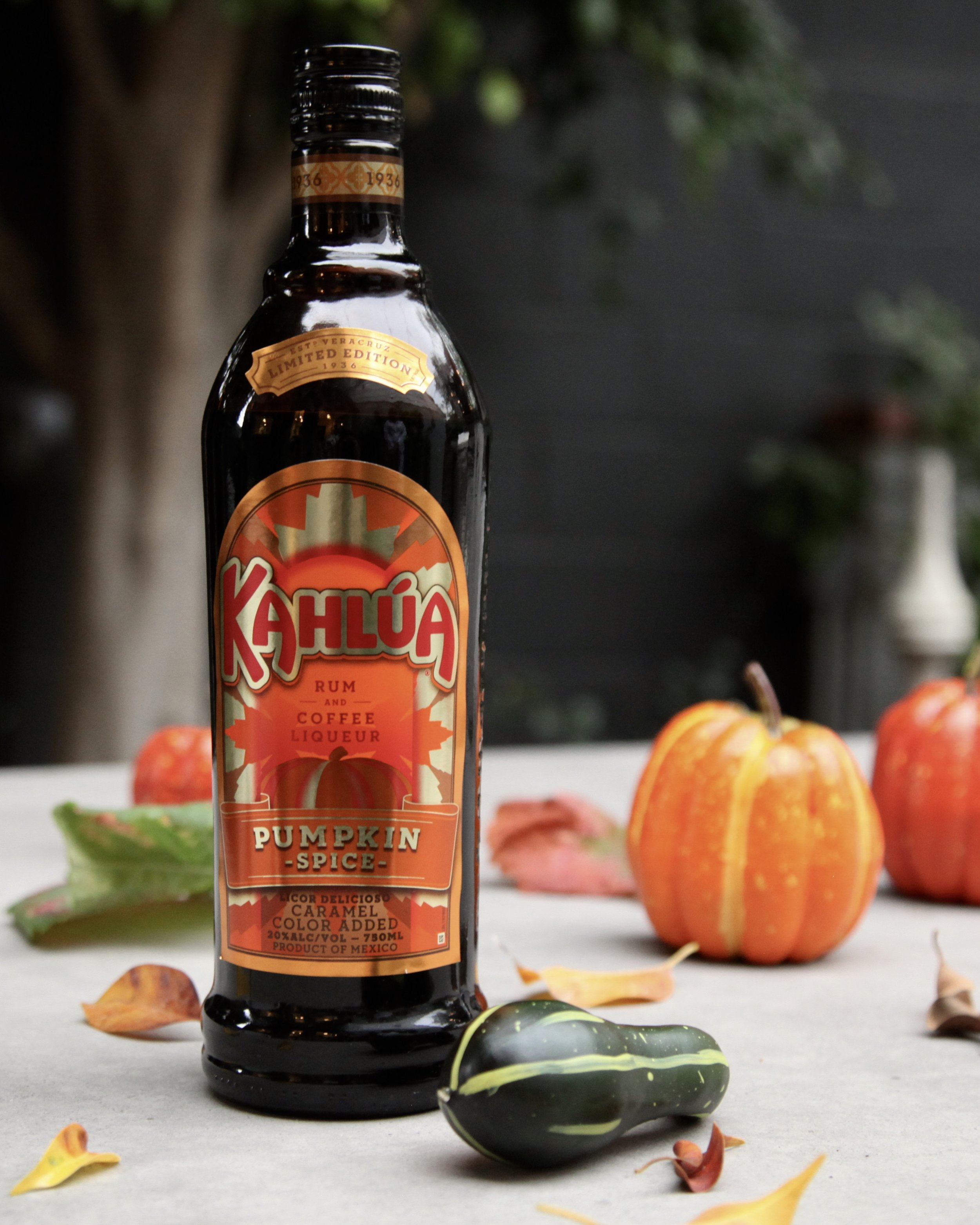 Pumpkin Spice Kahlua  is not hard to find during the holidays.