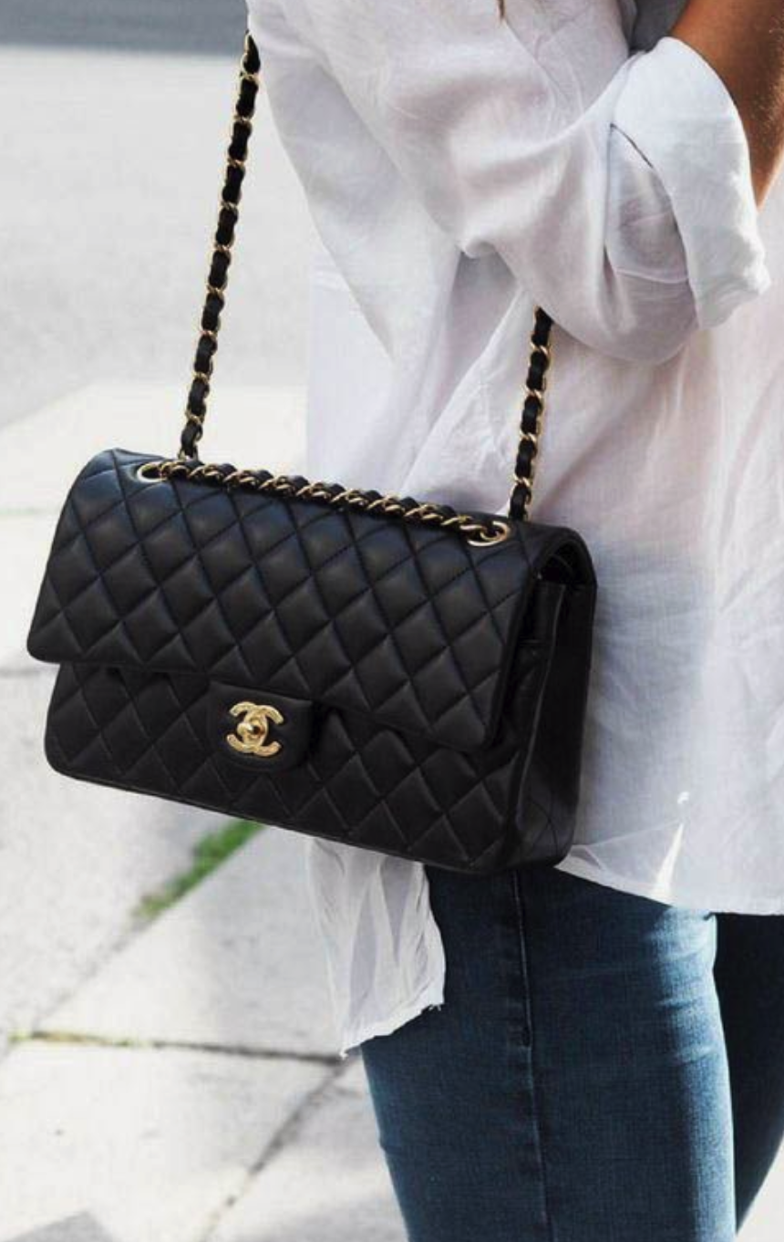 You can't beat a classic! - Chain Strap Bags and Chanel are synonymous