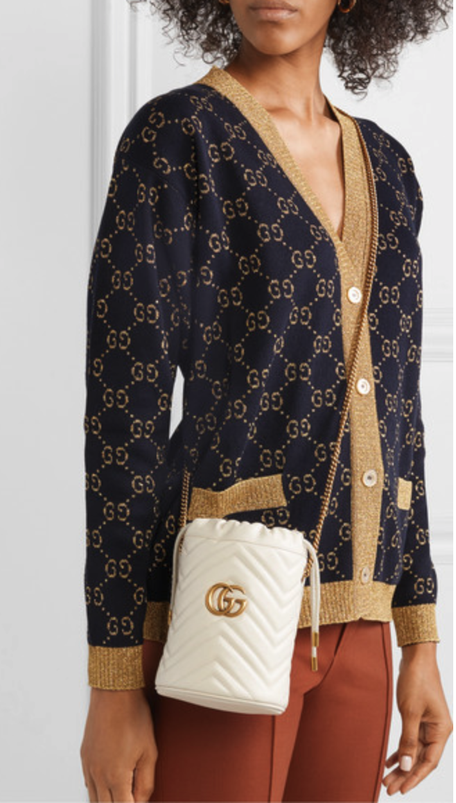Gucci surprises us every season! - The GG Marmont mini quilted comes in 4 Different colors