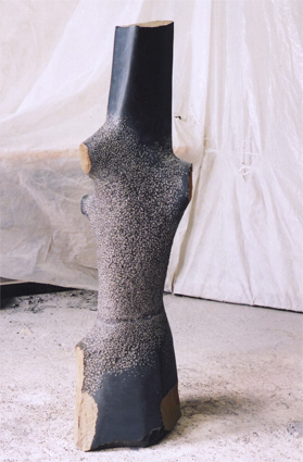 "Daphne  - Basalt, 60"" high"