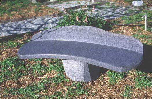 "Bench  - Granite, 56"" x 17"""