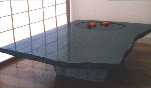 "Water Table -  Granite, 48"" x 36"" x 12"""