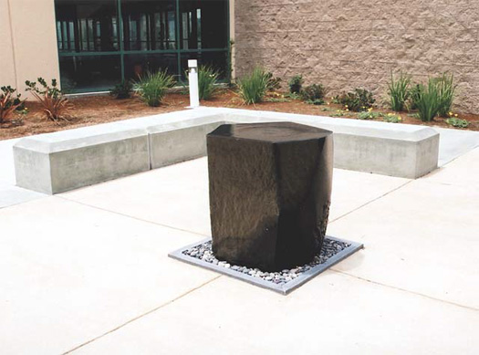 "Sun Microsystems  - Basalt, 32"" high"