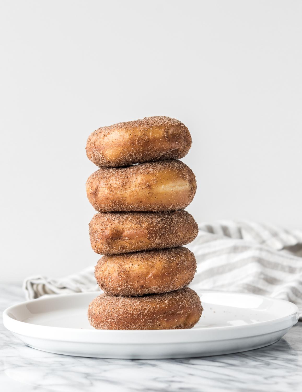 cinnamon sugar spudnuts