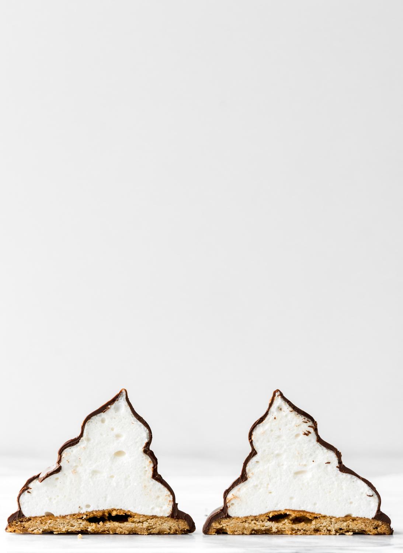 dark chocolate marshmallow speculoos