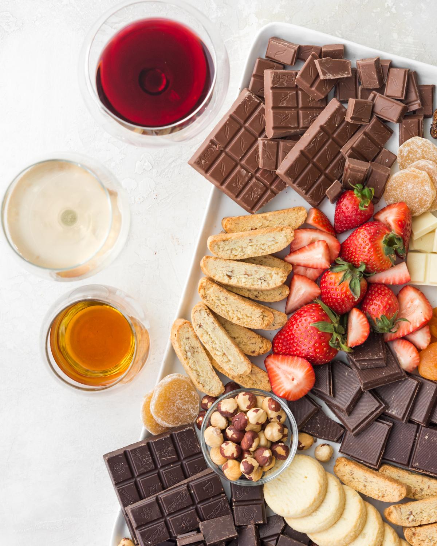 how to make a chocolate board