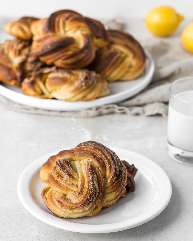 lemon sweet buns recipe