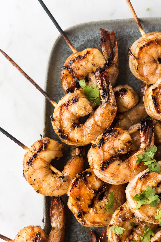 5 spice grilled shrimp