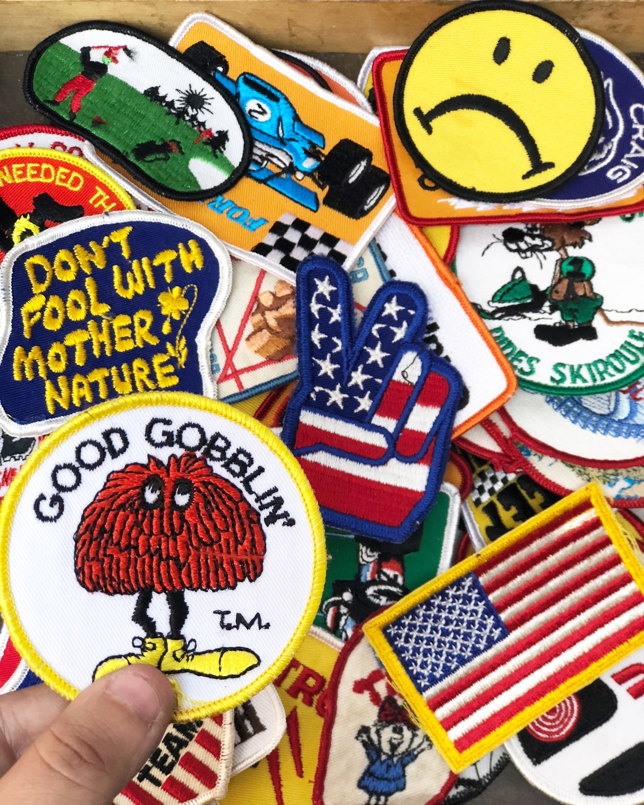 rascal salvage vintage / vintage patches