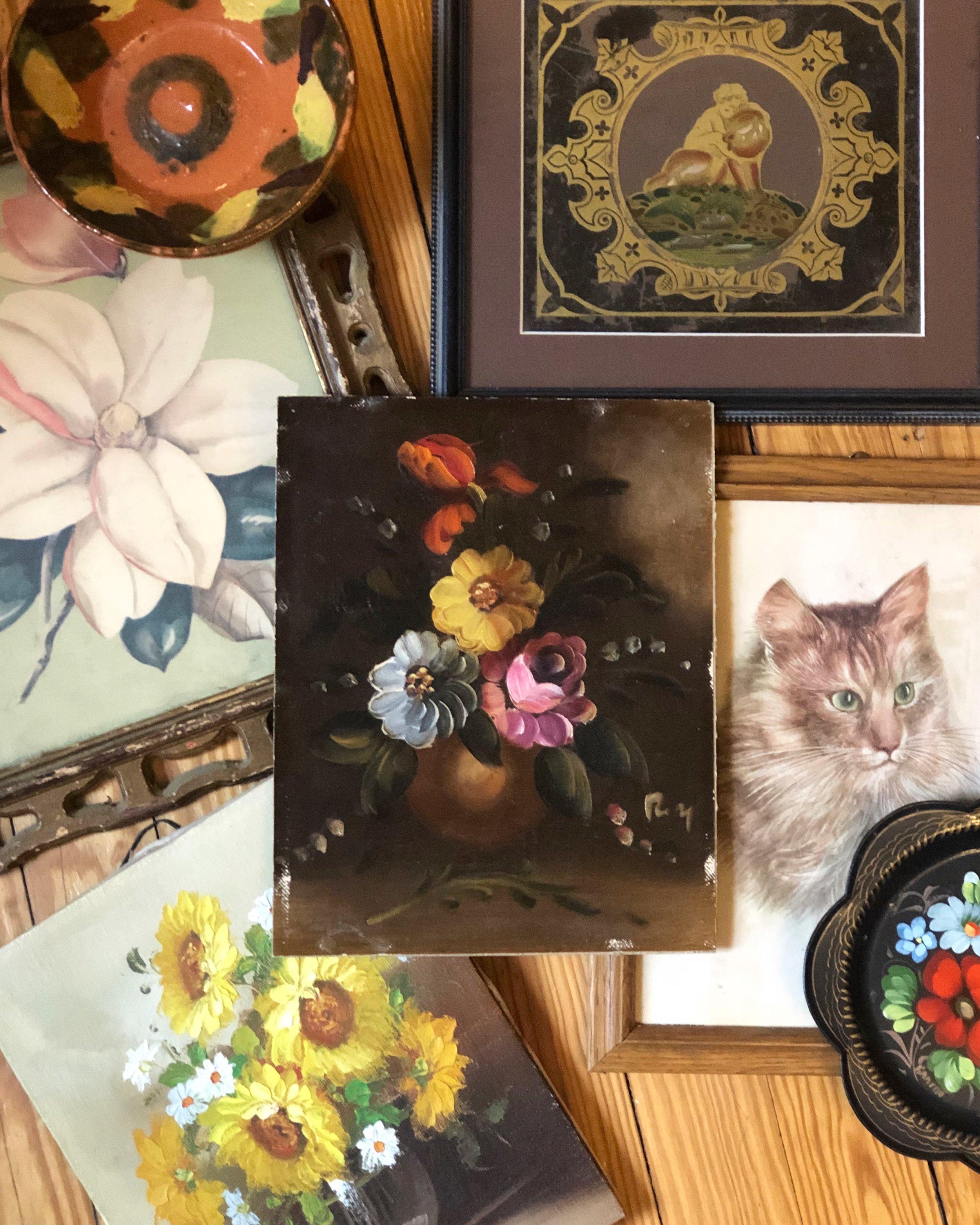 rascal salvage vintage / vintage paintings