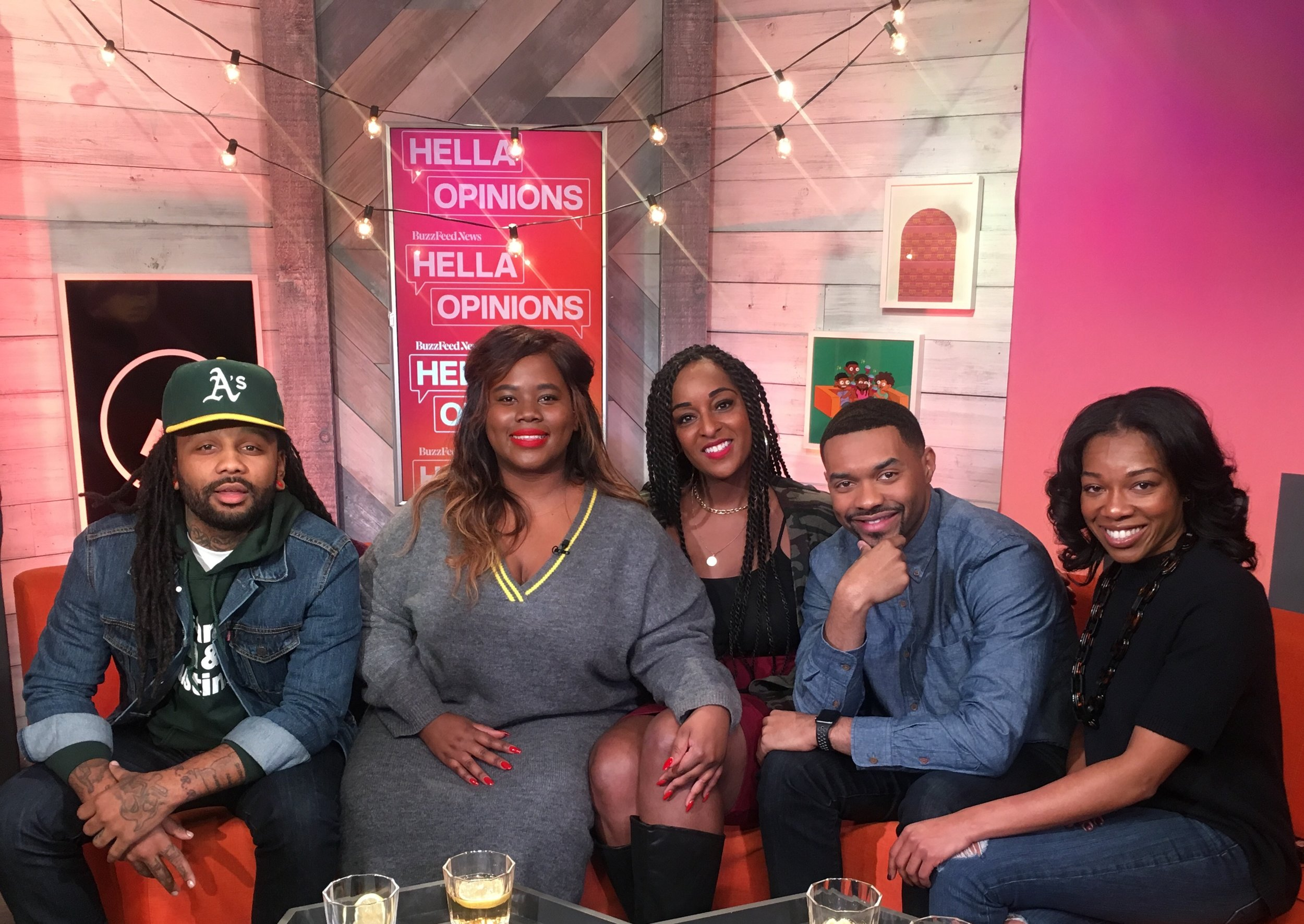 Buzzfeed's Hella Opinions - Dr. Hodge joined a panel of guests for a meaningful conversation about mental health, the black community, and relevant celebrity tweets!